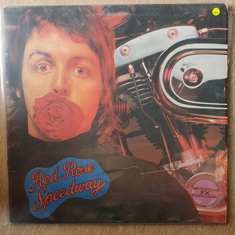 Wings (Paul McCartney) – Red Rose Speedway - Vinyl LP Record - Very-Good+ Quality (VG+)