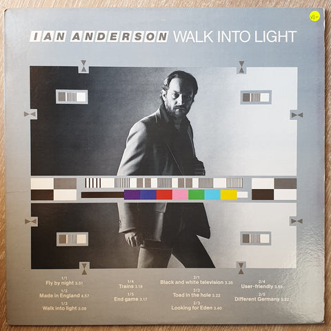 Ian Anderson ‎– Walk Into Light - Vinyl LP Record - Very-Good+ Quality (VG+)