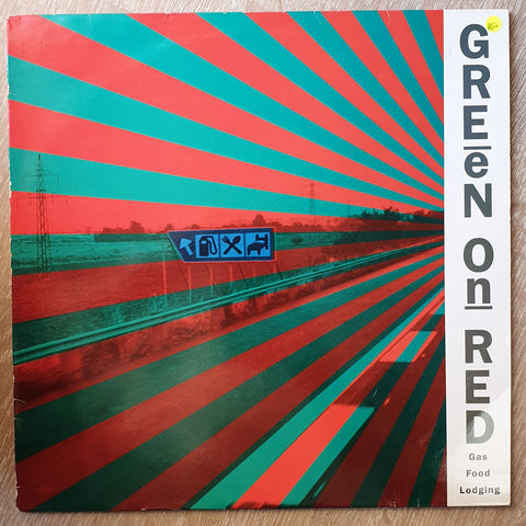 Green On Red ‎– Gas Food Lodging - Vinyl LP Record - Very-Good+ Quality (VG+)