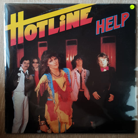 Hotline ‎– Help - Vinyl LP Record - Very-Good+ Quality (VG+)