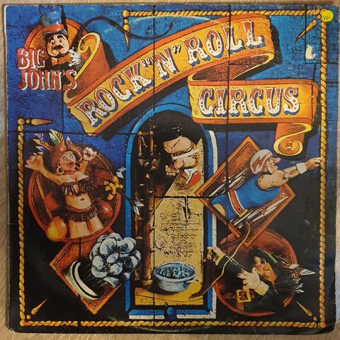 Big John's Rock 'N' Roll Circus ‎– Big John's Rock 'N' Roll Circus - Vinyl LP Record - Opened  - Very-Good Quality (VG)