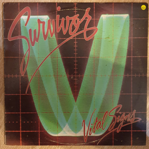 Survivor - Vital Signs - Vinyl LP - Opened  - Very-Good+ Quality (VG+) - C-Plan Audio