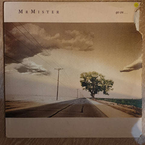 Mr. Mister ‎– Go On ... - Vinyl LP Record - Very-Good+ Quality (VG+)