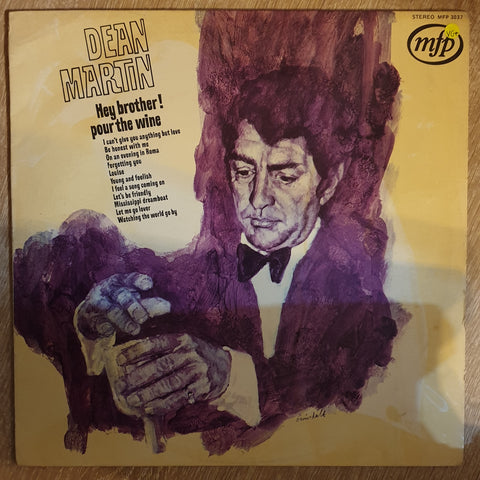 Dean Martin ‎– Hey, Brother, Pour The Wine -  Vinyl LP Record - Very-Good+ Quality (VG+)