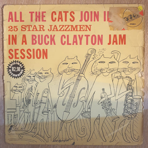 All The Cat's Join In by Buck Clayton & 25 Star Jazzmen - Vinyl LP Record - Opened  - Good+ Quality (G+)