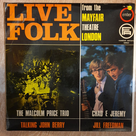 Live Folk From The Mayfair Theatre London -  Vinyl  Record - Very-Good+ Quality (VG+)