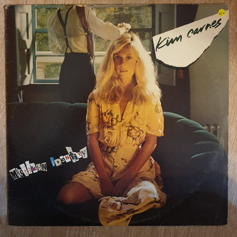 Kim Carnes ‎– Mistaken Identity - Vinyl LP - Opened  - Very-Good+ Quality (VG+)