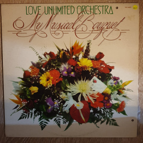 Love Unlimited Orchestra ‎– My Musical Bouquet -  Vinyl  LP Record - Very-Good+ Quality (VG+)