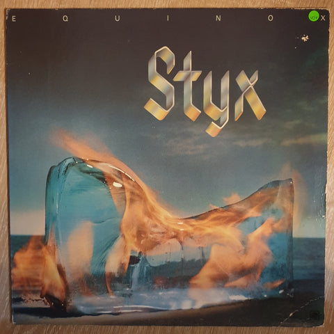 Styx ‎– Equinox -  Vinyl  Record - Very-Good+ Quality (VG+)