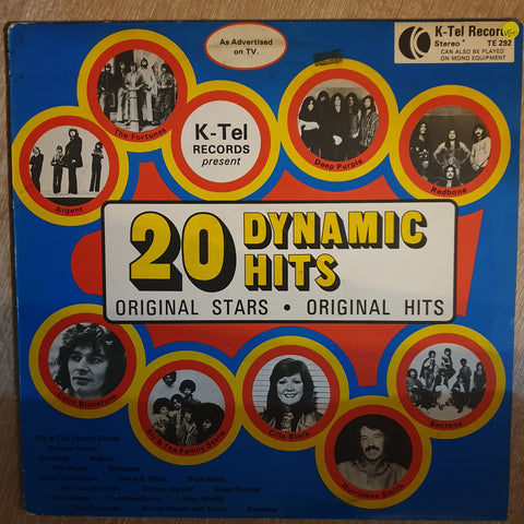 20 Dynamic Hits - K-Tel - Various Original Artists -  Vinyl  Record - Very-Good+ Quality (VG+)