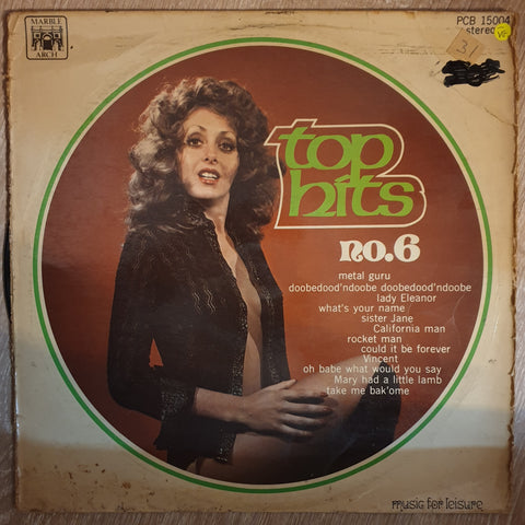 Top Hits No. 6 - Vinyl LP Record - Opened  - Very-Good- Quality (VG-)