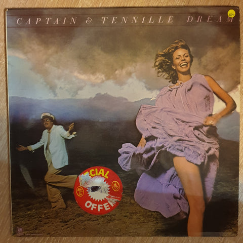 Captain & Tennille ‎– Dream -  Vinyl  Record - Very-Good+ Quality (VG+)
