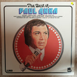 Paul Anka  - The Best of Paul Anka - Vinyl LP Record - Opened  - Very-Good+ Quality (VG+) - C-Plan Audio