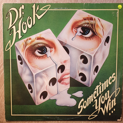 Dr. Hook ‎– Sometimes You Win  -  Vinyl LP Record - Very-Good+ Quality (VG+)