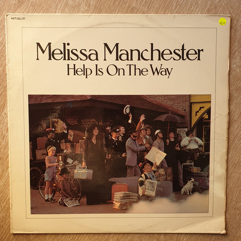 Melissa Manchester ‎– Help Is On The Way - Vinyl  Record - Very-Good+ Quality (VG+)