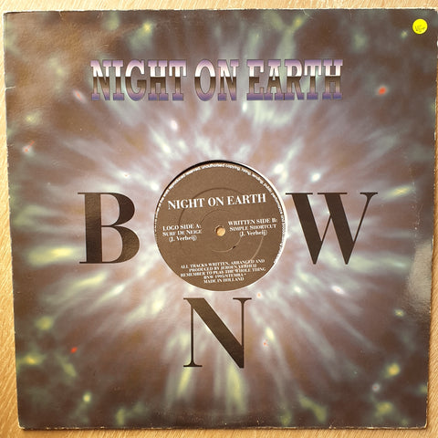 Night On Earth ‎– Surf De Neige / Simple Shortcut  - Vinyl  Record - Very-Good+ Quality (VG+)