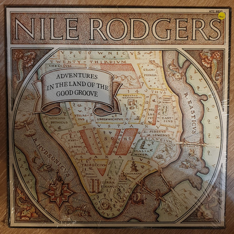 Nile Rodgers ‎– Adventures In The Land Of The Good Groove - Vinyl LP Record - Sealed