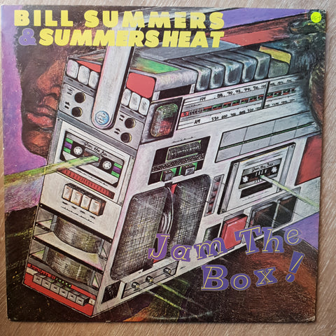 Bill Summers - Summers Heat  - Vinyl LP Record - Opened  - Very-Good+ Quality (VG+)