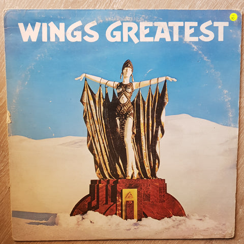 Wings - Greatest - Vinyl LP Record - Opened  - Very-Good- Quality (VG-)