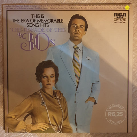 The Decade Of The 30s – Vinyl LP Record - Very-Good+ Quality (VG+) - C-Plan Audio