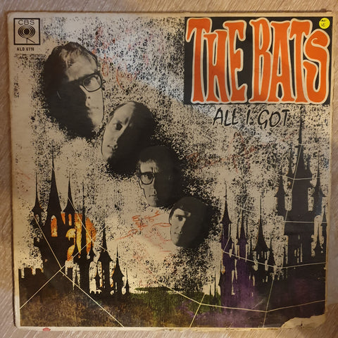 The Bats – All I Got - Vinyl LP Record - Opened  - Very-Good Quality (VG) - C-Plan Audio