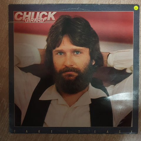 Chuck Girard ‎– Take It Easy - Vinyl LP Record - Opened  - Very-Good+ Quality (VG+)
