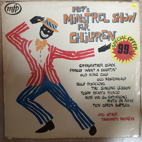The Story Book Singers ‎– MFP's Minstrel Show For Children -  Vinyl LP - Opened  - Very-Good+ Quality (VG+)