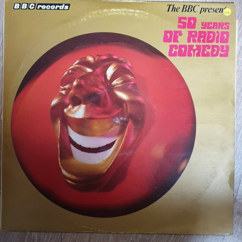 The BBC Presents Fifty Years Of Radio Comedy -  Vinyl LP - Opened  - Very-Good+ Quality (VG+)