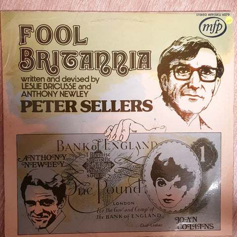 Fool Britannia - Peter Sellers - Anthony Newley, Leslie Bricusse  -  Vinyl LP - Opened  - Very-Good+ Quality (VG+)