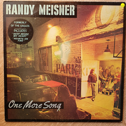 Randy Meisner (of The Eagles) - One More Song - Vinyl LP Record - Opened  - Very-Good+ Quality (VG+) - C-Plan Audio