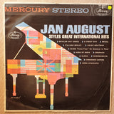 Jan August ‎– Styles Great International Hits - Vinyl LP - Opened  - Very-Good+ Quality (VG+)