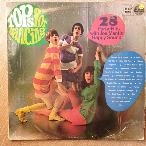 Jo Ment & His Party-Singers - Tops For Dancing (28 Party-Hits)  - Vinyl LP - Opened  - Very-Good+ Quality (VG+)