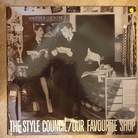 The Style Council \u200e\u2013 Our Favourite Shop , Vinyl Record , Opened ,  Very,Good+ Quality (VG+)