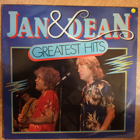 Jan & Dean Greatest Hits - Vinyl LP Record - Opened  - Very-Good+ Quality (VG+)