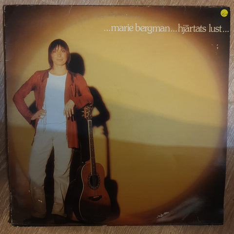 Marie Bergman ‎– Hjärtats Lust -  Vinyl LP Record - Opened  - Very-Good+ Quality (VG+)