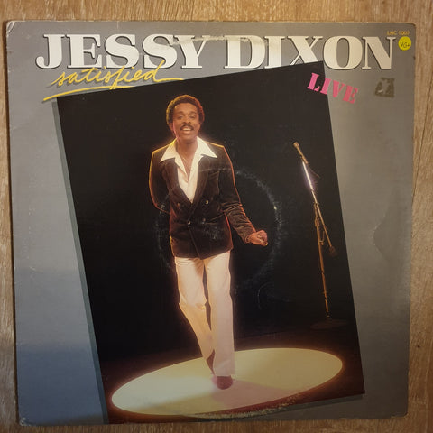 Jessy Dixon ‎– Satisfied- Vinyl LP Record - Opened  - Very-Good+ Quality (VG+)