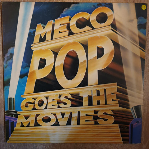 Meco ‎– Pop Goes The Movies - Vinyl Record - Opened  - Very-Good Quality (VG)