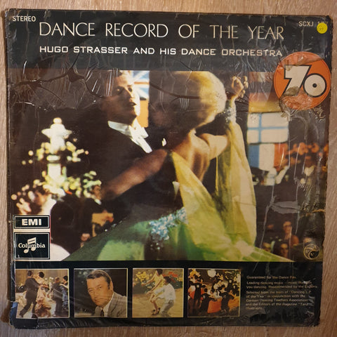 Hugo Strasser And His Orchestra ‎– The Dance Record Of The Year! - Vinyl LP Record - Opened  - Good+ Quality (G+)