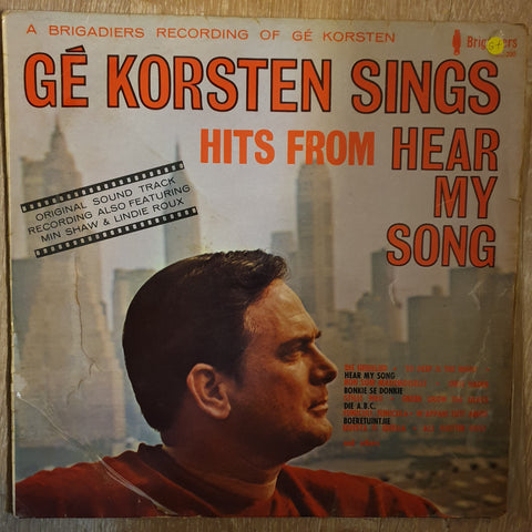 Ge Korsten - Sings Hits From Hear My Song - Vinyl LP Record - Opened  - Good+ Quality (G+)