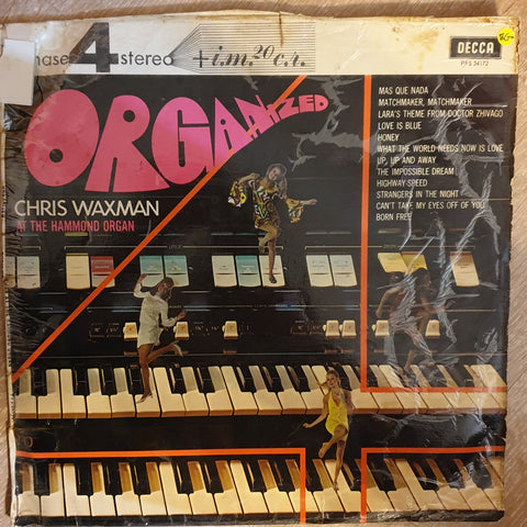 Chris Waxman - Organized ‎–  Vinyl LP Record - Opened  - Good+ Quality (G+)