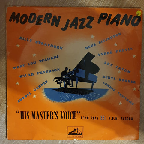 "Modern Jazz Piano 10"" - Vinyl Record - Opened  - Very-Good+ Quality (VG+)"