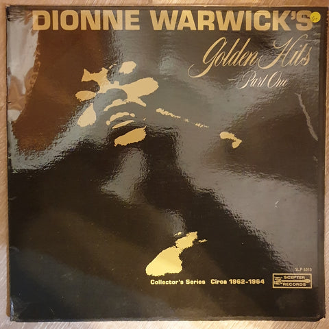 Dionne Warwick - Golden Hits Collectors Edition - Part 1 –  Vinyl LP Record - Opened  - Good+ Quality (G+)