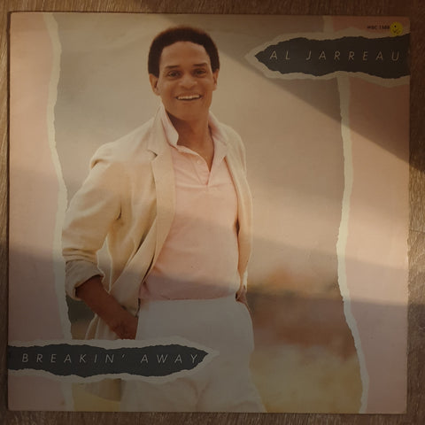 Al Jarreau ‎– Breakin' Away - Vinyl LP Record - Opened  - Very-Good Quality (VG) - C-Plan Audio