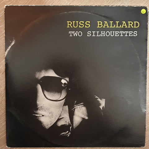 Russ Ballard ‎– Two Silhouettes -  Vinyl LP Record - Opened  - Very-Good Quality (VG) - C-Plan Audio