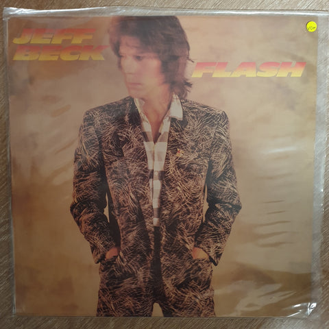 Jeff Beck - Flash - Vinyl LP Record - Opened  - Very-Good+ Quality (VG+) - C-Plan Audio