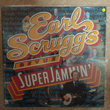 Earl Scruggs Revue ‎– Super Jammin' ‎–- Vinyl LP Record - Very-Good+ Quality (VG+) - C-Plan Audio