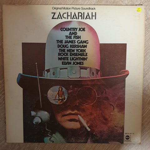 Zachariah (Movie Soundtrack) ‎–- Vinyl LP Record - Very-Good+ Quality (VG+)