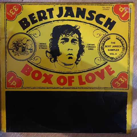 Bert Jansch ‎– Box Of Love - Vinyl LP Record - Very-Good+ Quality (VG+)