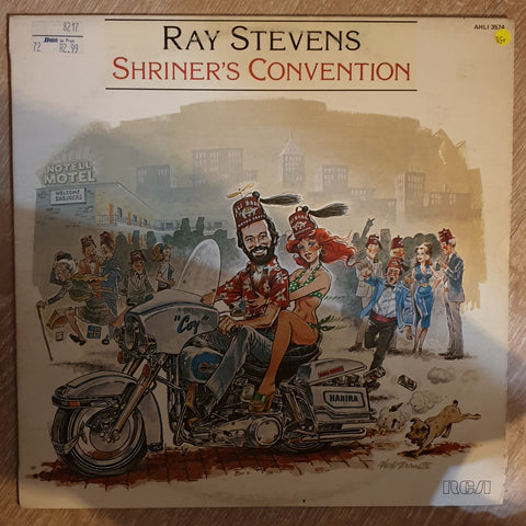 Ray Stevens ‎– Shriner's Convention - Vinyl LP Record - Very-Good+ Quality (VG+)
