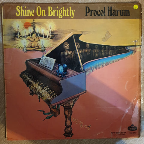 Procol Harum ‎– Shine On Brightly - Vinyl LP Record - Opened  - Very-Good Quality (VG)
